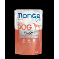 Пауч Monge Grill Adult Dog Salmon