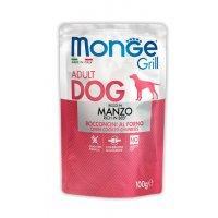 Пауч Monge Grill Adult Dog Beef