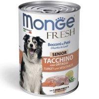 Консервы Monge Fresh Senior Turkey/Veget