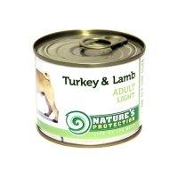 Консервы для собак Nature's Protection Adult Light Turkey & Lamb