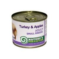 Консервы для собак Nature's Protection Adult Small Breeds Turkey & Apples