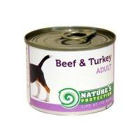 Консервы для собак Nature's Protection Adult Beef & Turkey