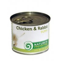 Консервы для собак Nature's Protection Puppy Chicken & Rabbit