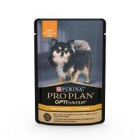 Pro Plan OptiSavour для взрослых собак с курицей в соусе