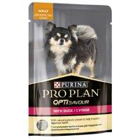 Pro Plan OptiSavour для взрослых собак с уткой в соусе