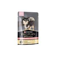 Pro Plan OptiSavour для собак с чувствительным пищеварением с лососем в соусе