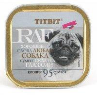 """""""Titbit"""" Консервы для собак RAF (Кролик)"""