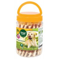 Triol Крученые палочки с уткой для собак (банка)