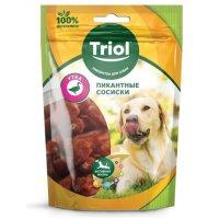 Triol Пикантные сосиски из утки для собак