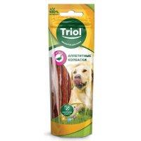Triol Аппетитные колбаски из утки для собак