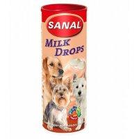 """Лакомство """"Sanal"""" Для собак молочные дропсы, 250 г"""
