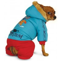 WD1025 Комбинезон зимний Stitch
