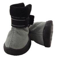 YXS144-1 Ботинки для собак серые