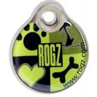 Адресник пластиковый RogZ ID Tag Lime Juice