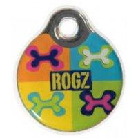 Адресник Rogz ID Tag Metal Pop Art Navy