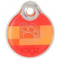 Адресник пластиковый RogZ ID Tag Tango Paws