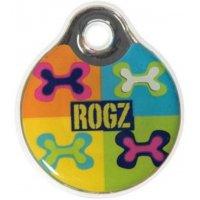 Адресник пластиковый RogZ ID Tag Pop Art Navy