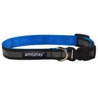 Ошейник AmiPlay Shine (Голубой)