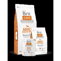 Сухой корм для собак Brit Care Adult Medium Breed Lamb & Rice
