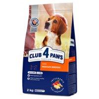 Club 4 Paws для взрослых собак средних пород (Курица)