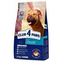 Club 4 Paws для взрослых собак всех пород (Ягненок и рис)