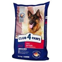 Club 4 Paws для взрослых активных собак всех пород (Курица)