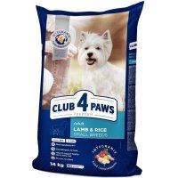 Club 4 Paws для собак малых пород (Ягненок и рис)