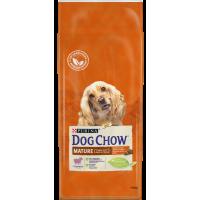 Dog Chow Mature для пожилых (ягненок)