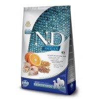 Farmina N&D LG Ocean Adult Medium & Maxi (Треска, апельсин, спельта, овес)