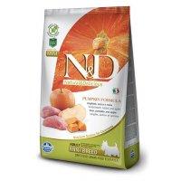 Farmina N&D GF Pumpkin Adult Mini (Тыква, кабан, яблоко)