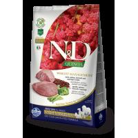 Farmina N&D Quinoa Adult All Breeds Weight Management (Ягненок, киноа, брокколи, спаржа)