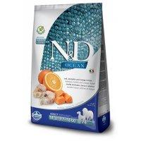 Farmina N&D GF Ocean Adult Medium & Maxi (Тыква, треска, апельсин)