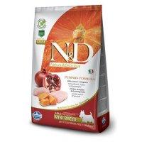 Farmina N&D GF Pumpkin Adult Mini (Тыква, курица, гранат)