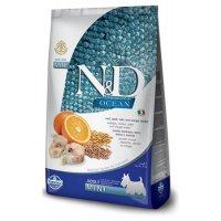 Farmina N&D LG Ocean Adult Mini (Треска, апельсин, спельта, овес)