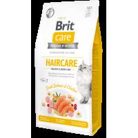 Brit Care Cat GF Haircare Healthy & Shiny Coat (Лосось, курица)