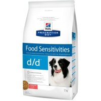 Hill's Prescription Diet d/d Food Sensitivities для собак с лососем