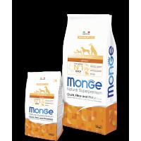Monge Dog Speciality Adult All Breeds (Утка,рис,картофель)