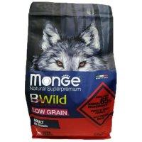 Сухой корм для собак Monge Dog BWild Adult All Breeds (Оленина)