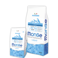 Monge Dog Speciality All Breeds Light (Лосось, рис)