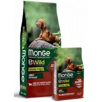 Monge Dog BWild Grain Free Adult All Breeds (Ягненок)