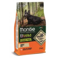 Monge Dog BWild Grain Free Adult Mini (Утка, картофель)