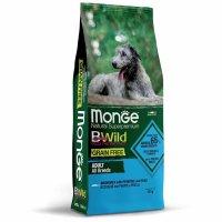 Monge Dog BWild Grain Free Adult All Breeds (Анчоус, картофель)