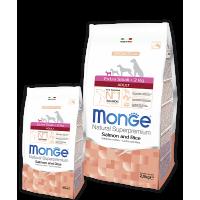 Monge Dog Speciality Adult X-Small (Лосось, рис)