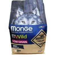 Monge Dog BWild Low Grain Adult All Breeds (Гусь)