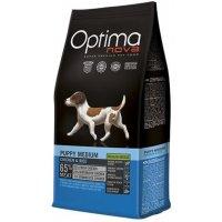 Сухой корм для собак Optima Nova Puppy Medium Chicken&Rice