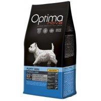Сухой корм для собак Optima Nova Puppy Mini Chicken&Rice