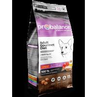 ProBalance Dog Guormet Diet (говядина и ягненок)